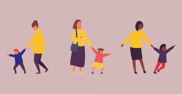 Ser mamá equivale a tener 2.5 trabajos de tiempo completo…